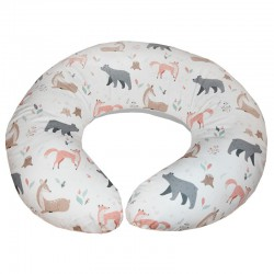 Velvet small nursing pillow