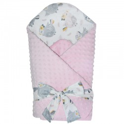 MINKY Cotton Swaddle Blanket