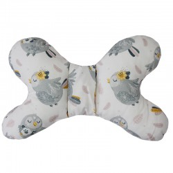 Butterfly-shaped pillow