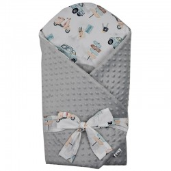 MINKY Cotton Swaddle Blanket