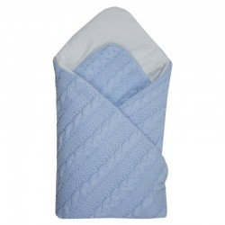 BRAIDS Jersey Swaddle Blanket