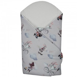 Printed Cotton Swaddle Blanket
