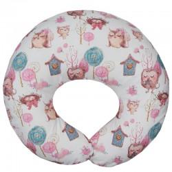 Velvet small nursing pillow