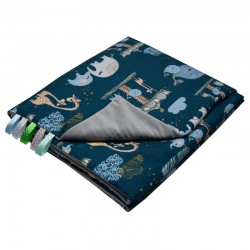 Blanket and play mat with...