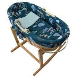 Moses basket with basket...