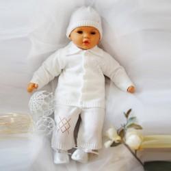 Souprava ke křtu pro chlapce