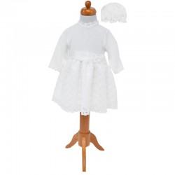 Souprava ke křtu pro dívky