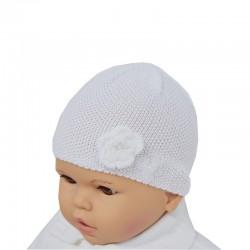 Mütze zur Taufe für Mädchen
