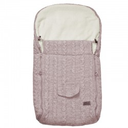 Knitted sleeping bag