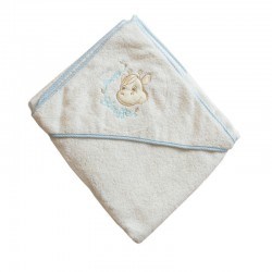 Little giraffe hooded towel