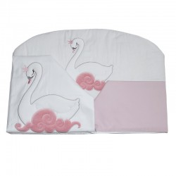 Cotton cot bedding set...