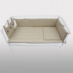 Pletena posteljina